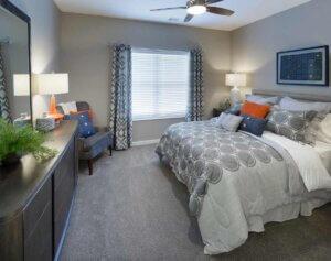 I STREET Modern Apartments - Bentonville Arkansas - Bedroom