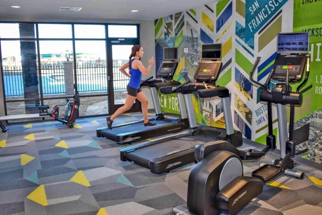 I STREET Modern Apartments - Bentonville Arkansas - Fitness Center